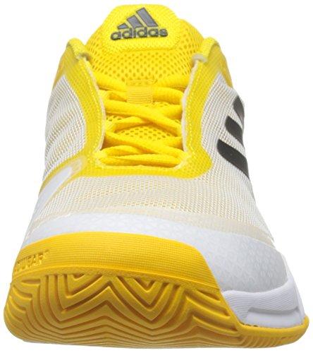 adidas Barricade Club, Chaussures de Tennis Homme, Gris Yellow (Eqtama / Negbas / Ftwbla)