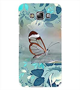 ColourCraft Beautiful Butterfly Design Back Case Cover for SAMSUNG GALAXY GRAND 3