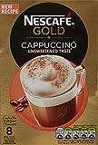 NESCAFÉ GOLD Cappuccino Unsweetened Taste Coffee, 8...