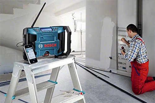Bosch-Set: Akkuschrauber GSR 10,8-2-Li Prof. + Akku-Radio GML 10,8 V-Li - 9