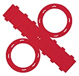 folia 9420/5 Laternenrohlinge aus Wellpappe, 5 Stück, rot