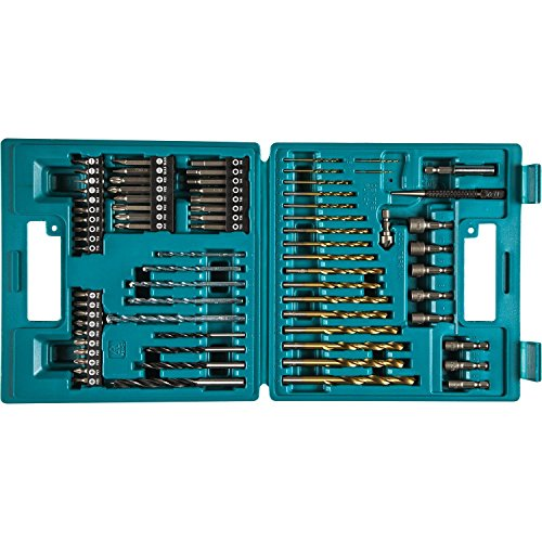Makita b-49373Bohren und Schraube-Bit, 18V, blau, Set 75Stück