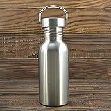 Die besten Reisen Wasserflaschen - Forfar Rostfreier Stahl Wasserflasche Reisen Yoga Wasser Schal Bewertungen