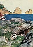 Maurice Grieffenhagen - The Naples Riviera 1907 Faraglioni