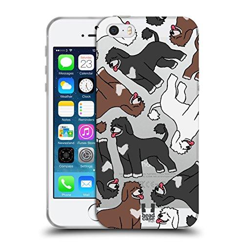 Head Case Designs Portugiesischer Wasserhund Modelle Hunde Rassen 8 Soft Gel Hülle für Apple iPhone 5/5s/SE