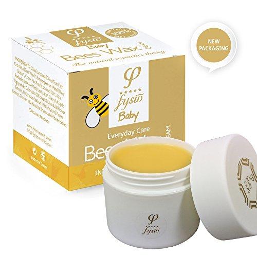 Natürliche und Biologische Reine Bienenwachs Windelcreme - Nappy Cream – Baby Feuchtigkeitscreme - Hergestellt aus Natürlichen...
