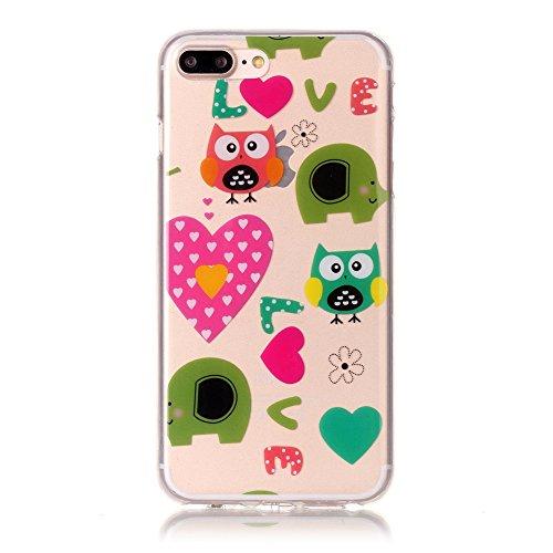 Voguecase® für Apple iPhone 7 4.7 hülle, Schutzhülle / Case / Cover / Hülle / TPU Gel Skin (macaron 03) + Gratis Universal Eingabestift Love Eule 01