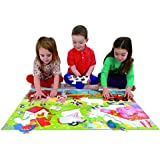 Galt Toys Giant Floor Puzzle Farm