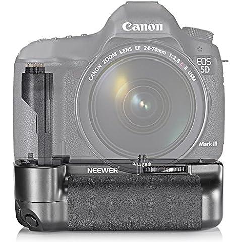 Neewer® Vertical Battery Grip Reemplazo para Canon BG-E11funciona con LP-E6batería o 6piezas de Aa pilas para Canon 5d mark iii/5DS/5DSR Cámaras