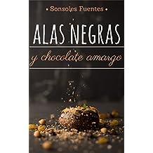 Alas negras y chocolate amargo