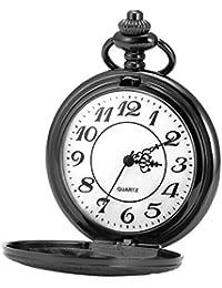 AMPM24 WPK213 Reloj de Bolsillo Cuarzo, Caja de Negro