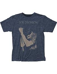 Joy Division - T-shirt -  Homme -  Bleu - Heather Navy - moyen
