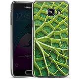 Samsung Galaxy A3 (2016) Housse Étui Protection Coque Feuille de nénuphar Plante Nature