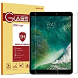 Omoton Apple Pencil Compatible Tempered Glass Screen Protector With [9H Hardness] [Crystal Clear] [Anti-Scratch] [Bubble-Free] For Ipad Pro 10.5 Inch