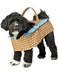 morris costumes Doggie In a Basket Dog Fancy Dress Costume