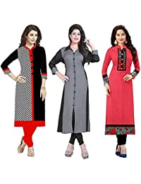 Kurtis (Crazy Trendz Dresses For Girls 18 Years Long Dress Party Wear Kurtis For Womens New Style Party Wear Kurti...