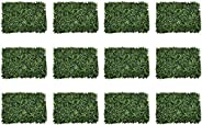 YATAI 12 Pcs Wall Grass Artificial Plants Eucalyptus Leaves/Flowers Wholesale Artificial Turf Wall Grass For H