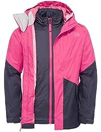 The North Face G Kira Triclimate Jacket - Chaqueta, color rosa, talla XL