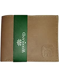 Woodland Leather Wallet For Men & Boys – Light Brown Coloured