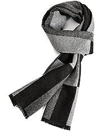ddd5df75ca4a Warm Herbst und Winter Schal, VICWARM Herren Classic und Elegant Plaid  Schals