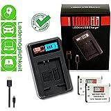 LOOkit LCD Chargeur + 2x LOOKit Batterie EN-EL19 pour Nikon COOLPIX A100 S7000 S33 S3700 S2900 S6800 S5300 S3600 S2800