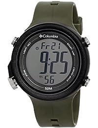 Columbia hombre CT007–051contratar pantalla Digital cuarzo verde reloj por Columbia