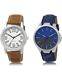 The Shopoholic White Blue Grey Combo New Collection White And Blue And Grey Dial Analog Watch For Boys Stylish...