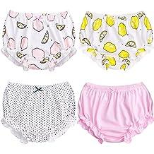 Suave bebé ropa interior para niños niñas de algodón pantalones de entrenamiento ...