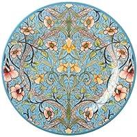 William Morris Plato Narciso Diseño, pintado a mano, esmalte/Estaño