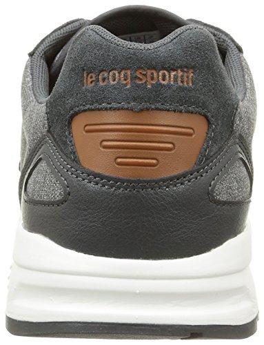 Le Coq Sportif Lcs R900 Craft 2 Tones, Baskets Basses homme Gris (Charcoal)