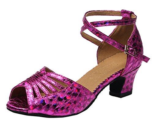 TDA - Peep-Toe donna Purple