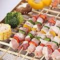 Xinhe Einweg-Grill, klein, rauchfrei, für drinnen und draußen, 5 Stück