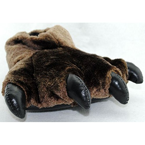 AIZHEAnimal Slippers - Pantofole uomo donna Bear