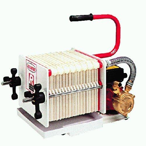 Elektropumpe Umfüllen selbstsaugend bisenso, Pumpe aus Messing und Baum in Edelstahl. AC 230V.