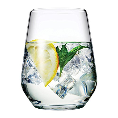 Pasabahce Allegra Set von 6 Gläser für Wein, Saft, Wasser, Whisky 425 ml
