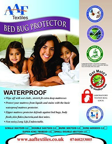 Waterproof King |Lab Certified |Zippered Bed Bug |Anti Allergy|Dust Mites|Anti Bacterial|Anti Microbial|Hypoallergenic| Mattress Cover|Protector|Encasement|Breathable|Anti Sneezing|Anti Itching|Anti Asthma