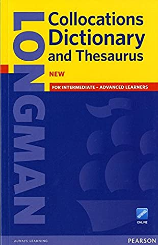 Longman Collocations Dictionary and Thesaurus Paper with online.