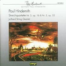 Cuartetos Cuerda N.3 Y 5 (Cuart.Julliard