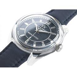 Bello & Preciso italienische Armbanduhr Modell Muletto Nero