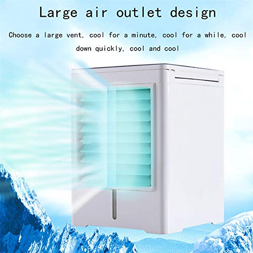 WSN Climatiseur Froid,Portable Mini Refroidisseur d'air par évaporation atomisant la Table de Chevet humidificateur Bureau Petit Bureau