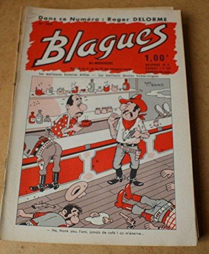 Blagues n° 344 - dans ce numéro Roger Delorme
