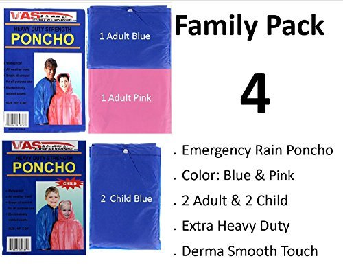 family-pack-blue-pink-deluxe-rain-wind-ponchos-adult-child-by-sis-e-store