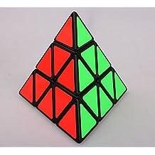 Topways® Shengshou Pyraminx mágico cubo de la torcedura del rompecabezas del cubo magic cube (negro)