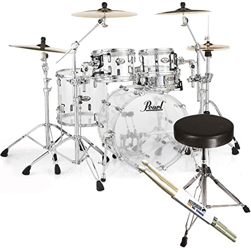 pearl-crb524p-c730-crystal-beat-fusion-shellset-acryl-keepdrum-hocker-sticks