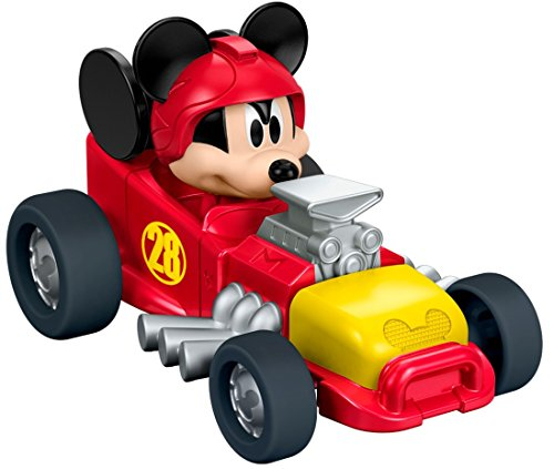 Disney Price Fisher Cars (Fisher-Price Disney Mickey and the Roadster Racers - Mickey's Hot Rod Die-cast Vehicle)