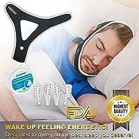 Schnarchen Lösung Stop Schnarchen Kinnriemen, Anti Schnarch Schlafhilfe Geräte 4 Nasendilatatoren Nase Vent für... preisvergleich bei billige-tabletten.eu