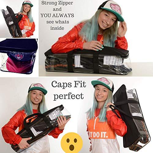 Imagen de bolsa de  de béisbol para 18  flex fit trucker snapback alternativa