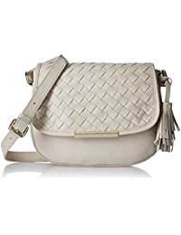 Aquatan Woven Dreams Leather Women's Slingbag (Ivory) (AT-S02-02)