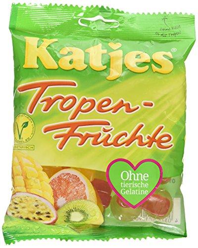 Katjes Tropenfrüchte – Kultige Fruchtgummi Süßigkeiten mit Fruchtsaft und Mango-Mark - In...
