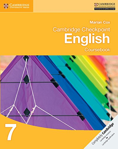 Cambridge checkpoint english. Coursebook 7. Con espansione online. Per le Scuole superiori (Cambridge International Examin)